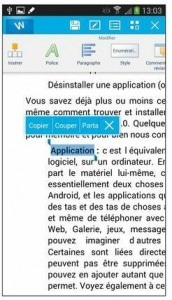 Kingsoft Office et les documents Microsoft Word