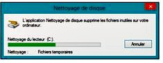 Windows supprime les fichiers inutiles