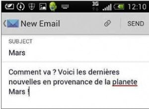 Composer un message