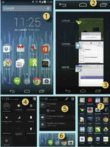Interface android