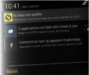 optimiser les notifications