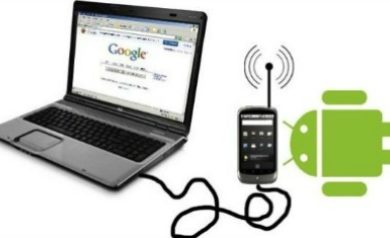 Android-Internet-Connection-With-PC