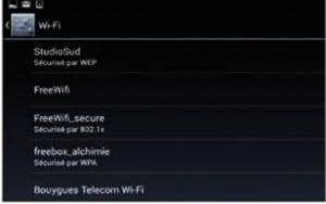 Identifiez les réseaux sans fil
