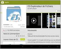 Installer ES Explorateur