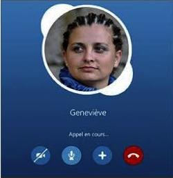 Passer des appels audio et video avec Skype