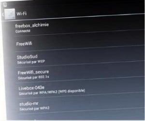 Restez connecté en toute occasion avec le wi-fi