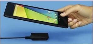 Rechargez votre tablette ou votre téléphone sans cable