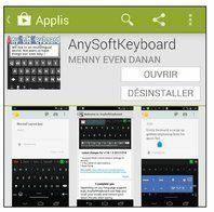 le clavier anysoftkeyboard