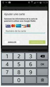 Enregistrez vos données bancaires