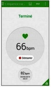 Mesurer sa fréquence cardiaque avec le cardiofréquencemètre