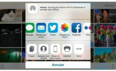Partager les photos de votre iPhone 6
