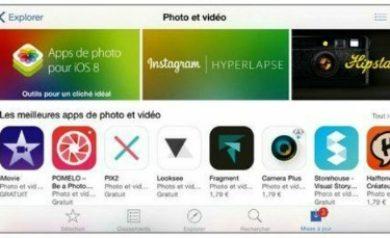 Trouver des apps avec l'iPhone 6