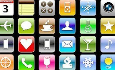Les applications iPhone 6