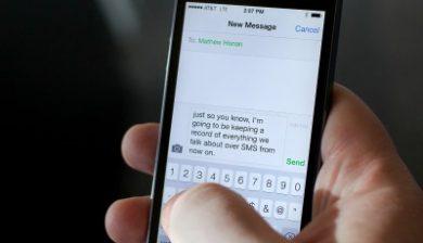 Relever des messages sur l'iPhone 6