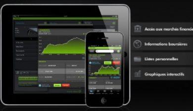 application Bourse iPhone 6