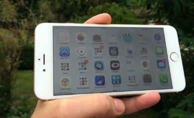 Réglages téléphone iPhone 6
