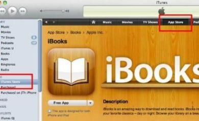 Application iBooks