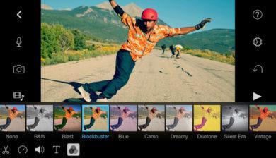 application photo iMovies pour mobiles