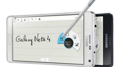Le clavier su Samsung Galaxy note 4