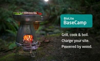 Gadgets pour frimer tout l'été -biolite-base-camp