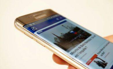 Galaxy S6 connecté à Internet