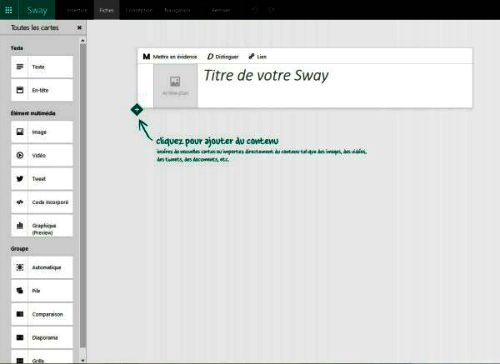 Interface de Sway