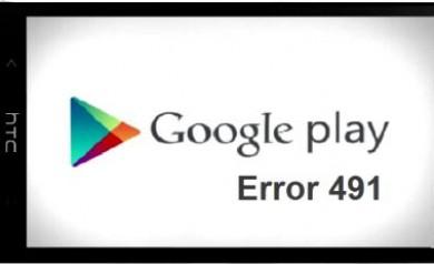 Error 491 Android