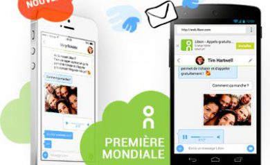 Libon - Application de communication enrichie d'orange