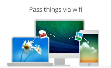 Filedrop transfert de données avec le wifi