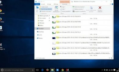 Les commandes du ruban sous Windows 10