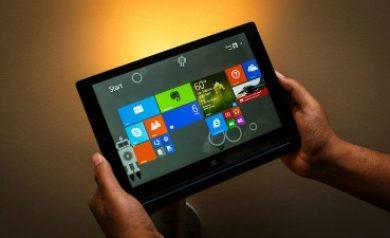 Mode tablette dans Windows 10