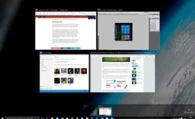 Windows 10 Plusieurs bureaux virtuels