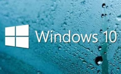 Papier peint Windows10
