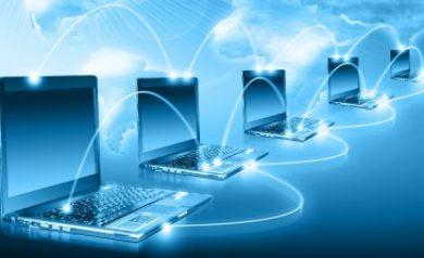 Image à la une montrant un réseau informatique