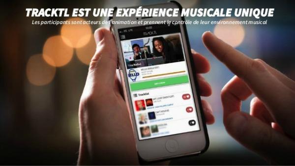 Application musique tracktl