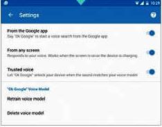 Enoncer OK Google pour allumer votre mobile