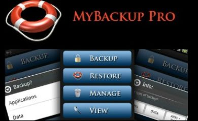 Application de sauvegarde Android MyBackup-Pro