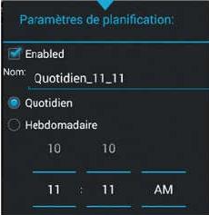 Planifier les sauvegarde avec MyBackup Pro