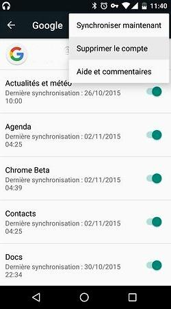 Synchroniser Gmail