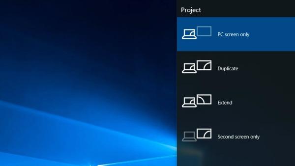 Préférences d'affichage de Windows 10