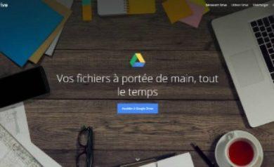 Créer un compte Google Drive- Image à la une