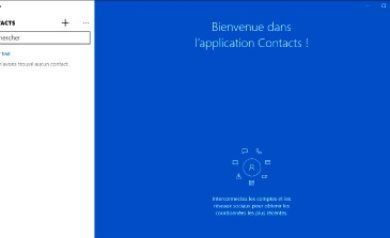 L'appli Contacts: image à la Une