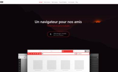 Navigateur web Vivaldi-Image à la une