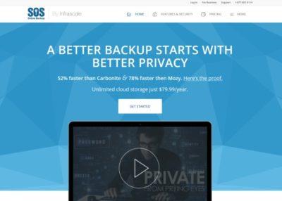 Le service cloud SOS Online Backup