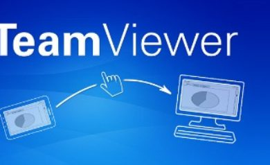 l'application TeamViewer