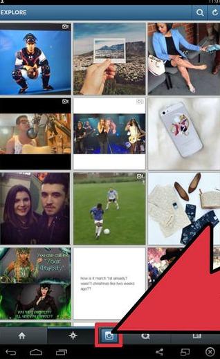 Publier une photo sur Instagram