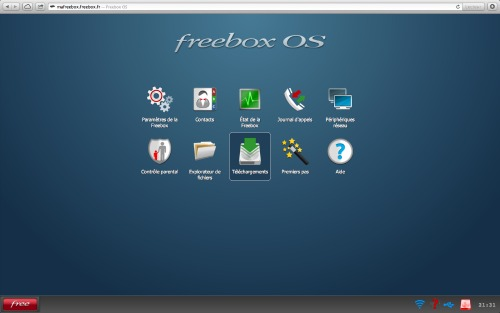 Photo Freebox OS
