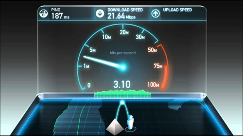 photo du site Speedtest