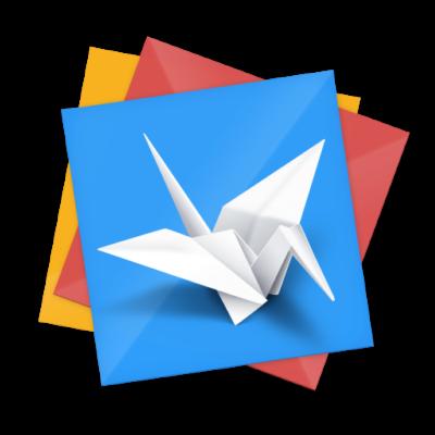 Facebook origami