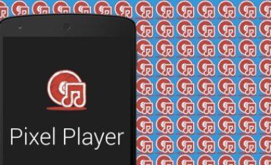 Pixel music player image à la une